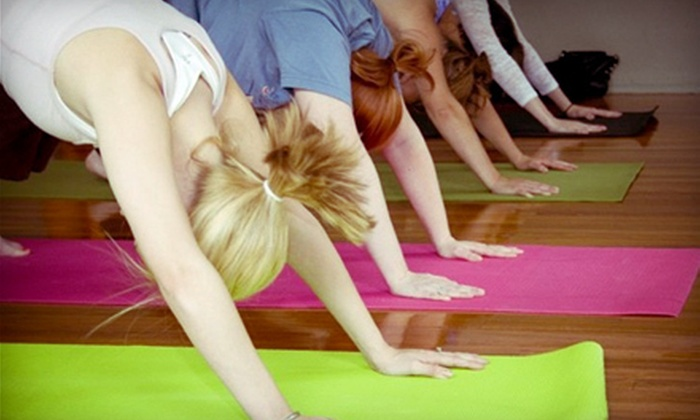 Art of Yoga - Downtown Columbus: 5 or 10 Yoga Classes at Art of Yoga (Up to 52% Off)