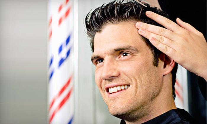 Park Ave. Barbers - Deer Park: One or Three Men's Haircuts at Park Ave. Barbers in Deer Park (Up to 56% Off)