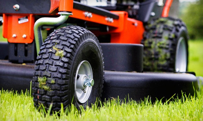 Mow-Trim-Blow - Hampton Roads: Three or Five Lawn-Cut Services for Up to Half an Acre from Mow-Trim-Blow (Up to 52% Off)