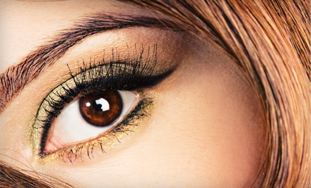 Semi-Permanent Lash Lift with Tint (an $80 value) - Herbal Mineral in Cupertino