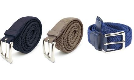 2 o 3 cinture elastiche da uomo