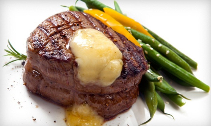 Steak Street - Steak Street: Steak-House Dinner for Two or Four with Appetizers and Entrees or $10 for $20 Worth of Lunch at Steak Street