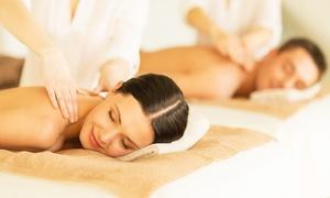 Lei: Massage-arrangement van 2,5 uur inclusief bubbels voor twee personen bij Schoonheidssalon Lei