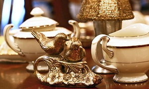 British Bell Tea Room: $12 for High Tea with Pastries and Sandwiches for One at British Bell Tea Room ($25.75 Value)