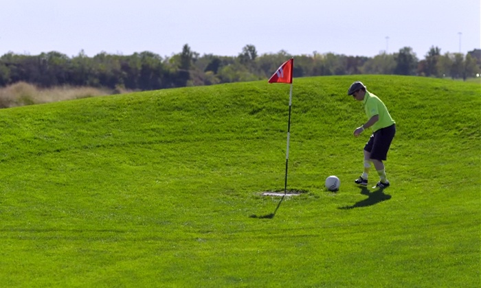 The Falcon Golf Course - East Lansing: 18-Hole Round of FootGolf with Ball Rental for Two, Four, or Six at The Falcon Golf Course (Up to 54% Off)