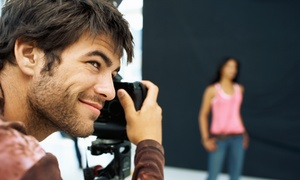 Flash Photo Photography: 30- or 60-Minute Studio-Photo-Shoot Package with Three Photo Sheets at Flash Photo Photography (Up to 67% Off)