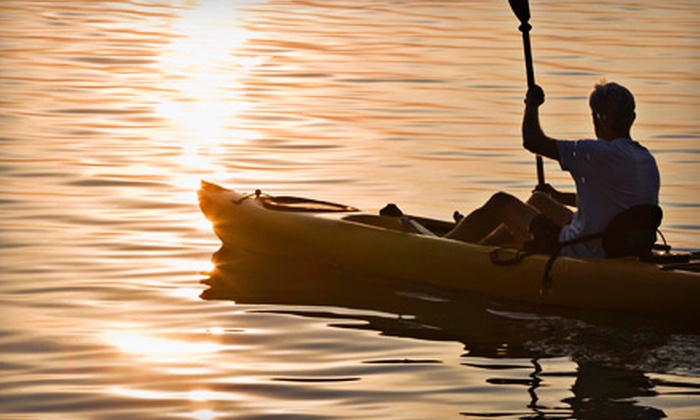 KayakClasses.com - Princeton: Two-Hour Sunset Kayak Tour for One or Two at High Trails Canoe/Kayak (Up to 56% Off)