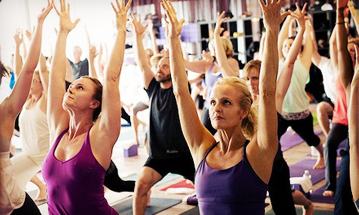 The Mat Yoga Studio - Dallas: 10 or 20 Classes or One Month of Unlimited Classes at The Mat Yoga Studio (Up to 79% Off)