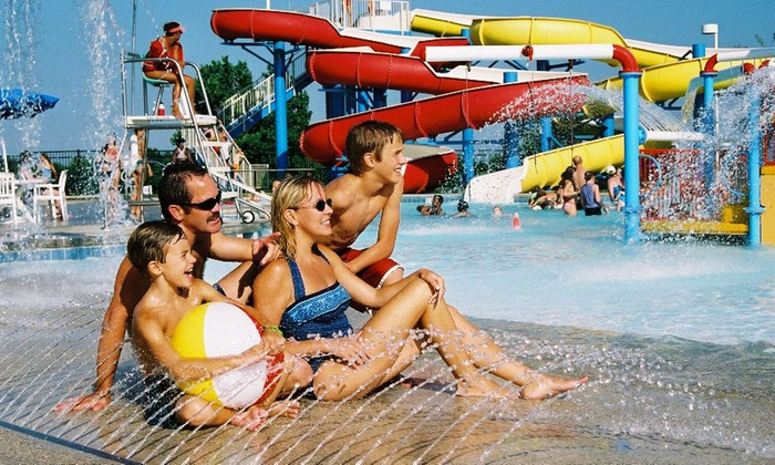 Wet Zone - Pecan Grove Park: Water-Park Entry and Hot Dogs, Chips, and Souvenir Cups for Two, Four, or Six at Wet Zone (Up to Half Off)