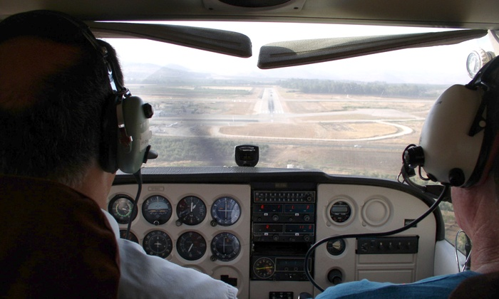 Advanced Air Incorporated - Advanced Air Incorporated: Discovery Flight for Up to Three or Eight-Week Ground School at Advanced Air Incorporated (Up to 62% Off)