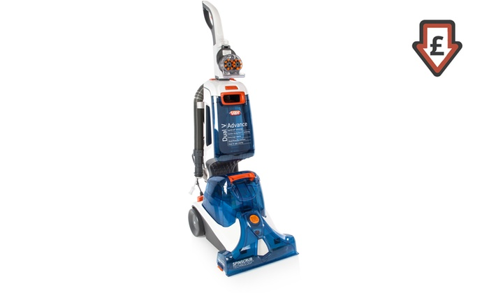 carpet vax. groupon goods global gmbh: vax dual v advance carpet cleaner w87dvb with free delivery