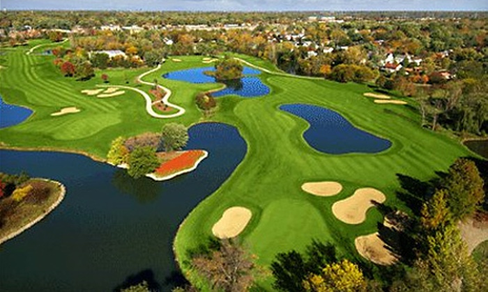 The Village Links of Glen Ellyn - Glen Ellyn: Nine-Hole Round of Golf for Two or Four with Range Balls at The Village Links of Glen Ellyn (Up to 52% Off)