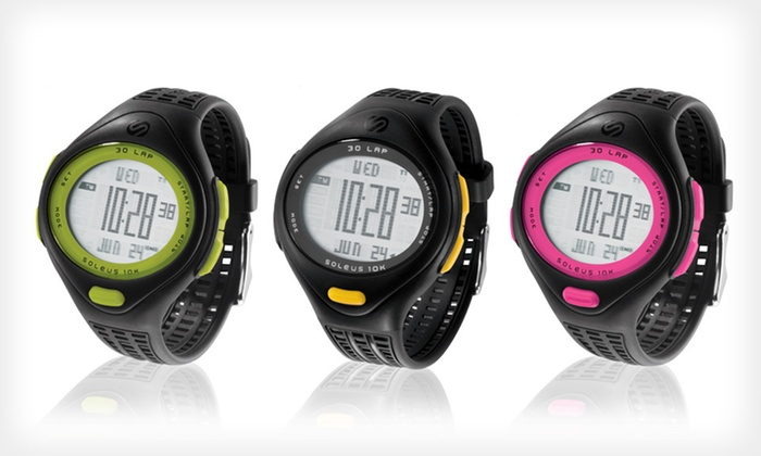 Soleus 10K Watch: $13.99 for a Soleus 10K Watch ($55 List Price). Seven Options Available.