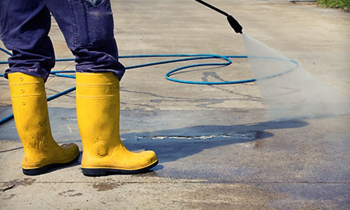 A Touch of Class - Tallahassee: Power Washing for a One- or Two-Car Driveway or Up to 600 or 1,200 Square Feet from A Touch of Class (Up to 64% Off)