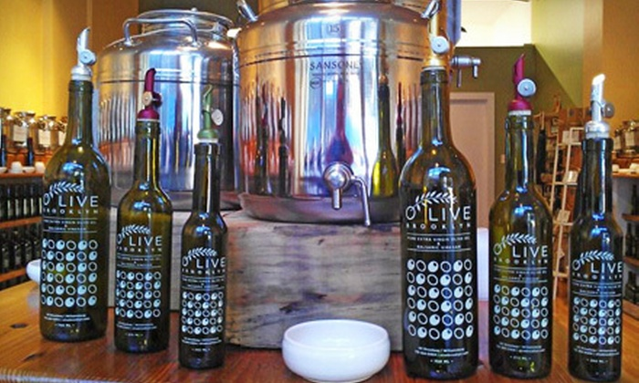 O Live Brooklyn - Williamsburg: $10 for $20 Worth of Premium Oils or Olive Oil 101 Class for One or Two with Free Bottle & $20 Credit at O Live Brooklyn