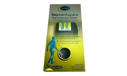 Scholl biomechanics Einlagen bei Fersen- und Knieschmerzen