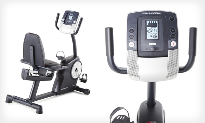 Proform 4.0 ES Recumbent Exercise Bike: $279.99 for a Proform 4.0 ES Recumbent Exercise Bike ($399.99 List Price). Free Shipping and Returns.