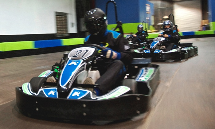 Andretti Indoor Karting & Games - Roswell: Go-Karts, Arcades, and Family Fun at Andretti Indoor Karting & Games (Up to 57% Off). Two Options Available.