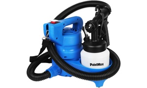 Paint Max 450 Watt Portable Paint Sprayer with Paint Pedestal