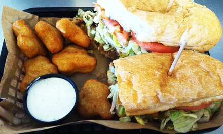 New Orleans Po-Boys, Muffalettos and Desserts for Two, Four, or More at Streetcar Po-boys (Up to 50% Off)