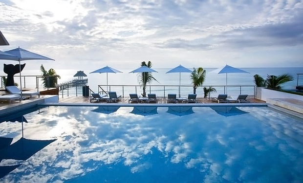 TripAlertz wants you to check out ✈ 4-Night All-Inclusive Blue Diamond Riviera Maya Stay w/ Airfare. Price per Person Based on Double Occupancy.  ✈ 4-Night Blue Diamond Riviera Maya Resort w/ Air from Travel by Jen  - All-Inclusive Mexico Vacation