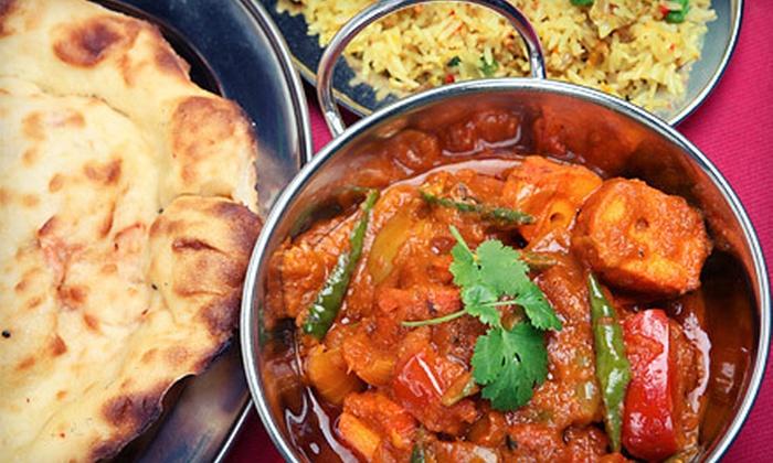 Saffron Las Vegas - Winchester: Indian Cuisine Dinner for Two or Four at Saffron Las Vegas (Up to 54% Off)