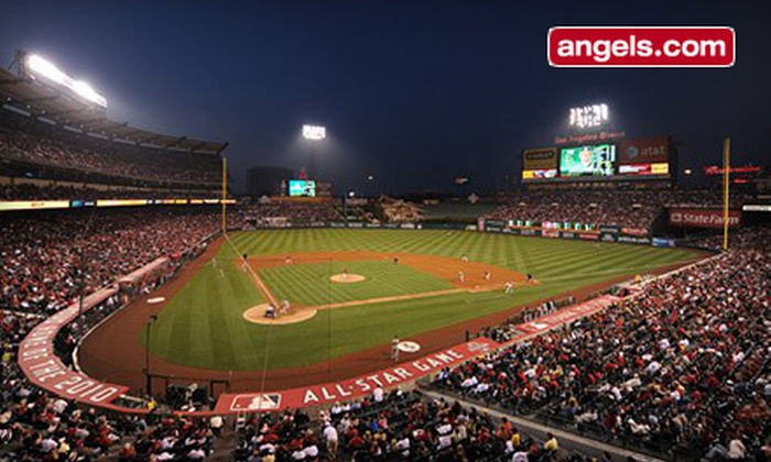Los Angeles Angels - Angel Stadium of Anaheim: Los Angeles Angels of Anaheim Game at Angels Stadium of Anaheim on September 25 or 26 (Up to 61% Off)