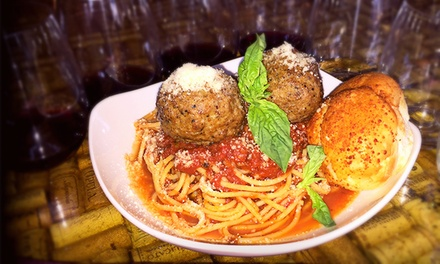 $25 for Sicilian Dinner with Wine Flights for Two at Vino Veritas Winery and Ristorante ($50 Value)