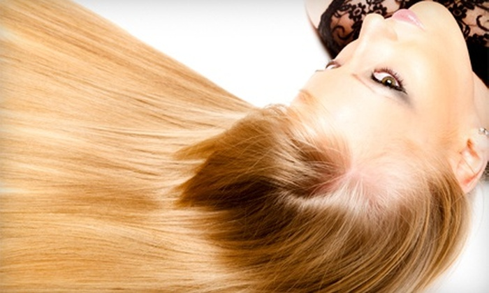 Edan at Edan Edan Salon - West Los Angeles: Haircut with Deep Conditioning or Partial Highlights, or Blow Dry Treatment at Edan Edan Salon (Up to 74% Off)