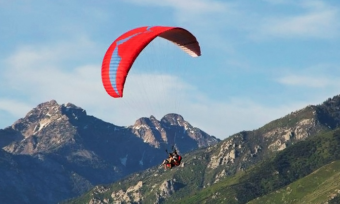 Yay for Paragliding - Salt Lake City: $130 Paragliding with GO PRO Video at Yay for Paragliding ($175 Value)