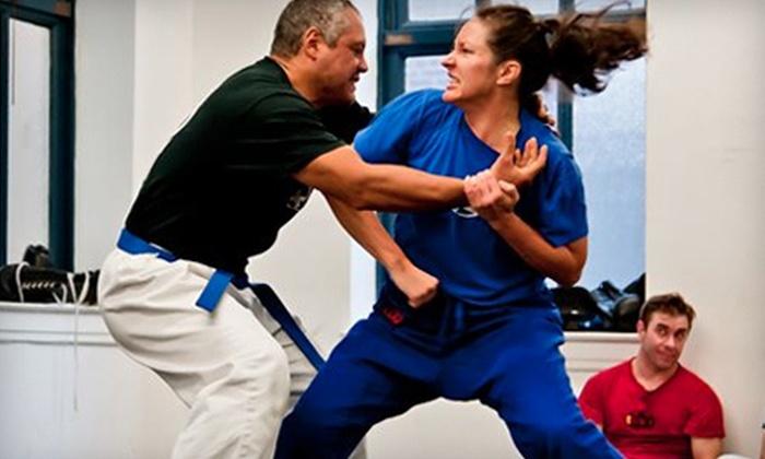 Krav Maga Federation - Multiple Locations: Four or Eight Krav Maga Self-Defense Classes at Krav Maga Federation (Up to 69% Off)