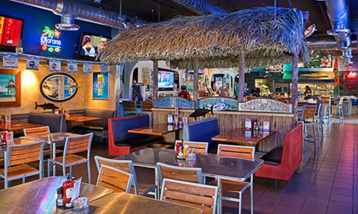 JC Wahoo's Sports Bar & Grill - Lighthouse Point: Seafood and Pub Fare at JC Wahoo's Sports Bar and Grill in Lighthouse Point (Up to 53% Off). Two Options Available.