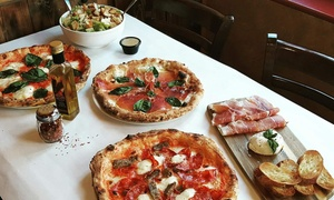 La Crosta Woodfire Pizzeria: Wood-Fire Pizza and Italian Fare at La Crosta Woodfire Pizzeria (Up to 50% Off). Two Options Available.