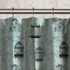 Birdcage Design PEVA Shower Curtain