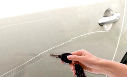 Schoonmaakbeurt bij Teun's Car Cleaning, naar keuze met krasverwijdering