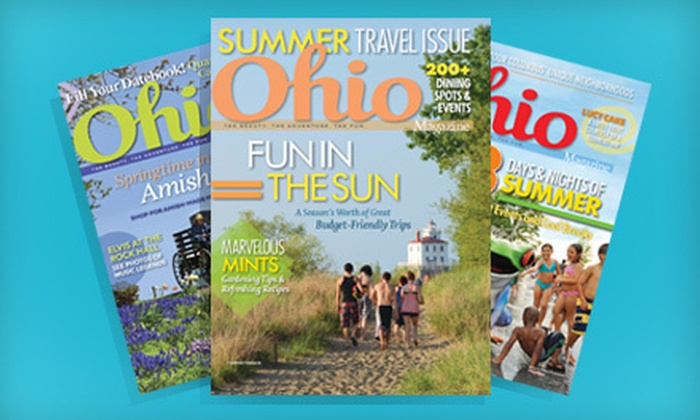 "Ohio Magazine - Downtown: Two- or Three-Year Subscription to ""Ohio Magazine"" (Half Off)"