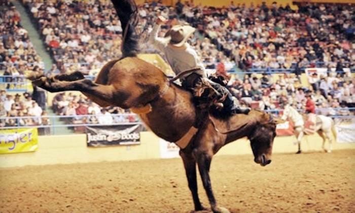 ABC Pro Rodeo - Multiple Locations: $10 for ABC Pro Rodeo for Two at Lubbock City Bank Coliseum on March 28, 29, or 30 ($20 Value). Four Options Available.