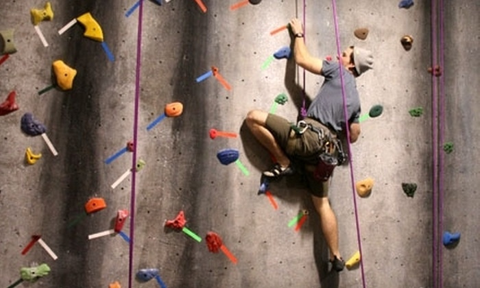 Urban Rocks Gym - Amnicola - East Chattanooga: Rock-Climbing Visit for an Adult, or Couples Intro Package with Belay Lesson at Urban Rocks Gym (Half Off)