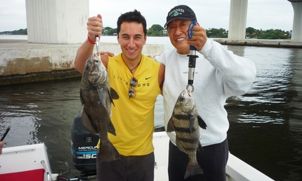 $199.99 for a Four-Hour Fishing Charter for Up to Four from Captain John Raasch Charters ($350 Value)