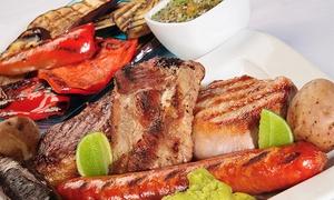 Caliu: Parrillada de 1 o 2 kg de carne para dos o cuatro persona con entrante, postre y vino desde 19,90 €
