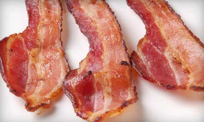 Bacon Bash II - Theater District - Times Square: Bacon Bash II with Five Bacon Tastes and One Draft Beer for One or Two from iAdventure.com (Up to 54% Off)
