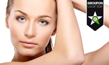 Tratamiento médico de rejuvenecimiento facial con hilos tensores y mesoterapia de silicio desde 99 €