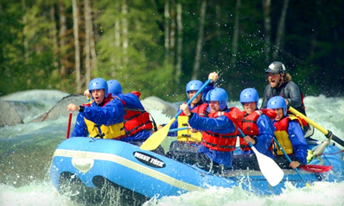 Outdoor Adventure Center - Index: North Fork Skykomish River Rafting Trip for One, Two, or Four from Outdoor Adventure Center (Up to 51% Off)