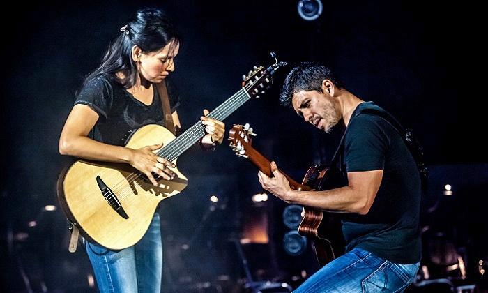 Rodrigo y Gabriela - Chastain Park Amphitheatre: Rodrigo y Gabriela at Chastain Park Amphitheatre on Saturday, August 9, at 8 p.m. (Up to 51% Off)