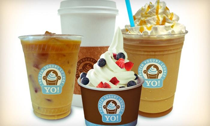 YO! Frozen Yogurt Lounge - Fort Worth: $10 for $20 Worth of Frozen Yogurt and Coffee at Yo! Frozen Yogurt Lounge