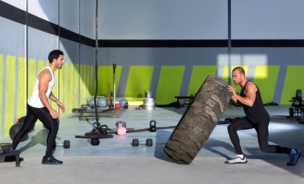 One or Two Months of Three Weekly Boot Camp Classes at CrossFit Fairport (63% Off)
