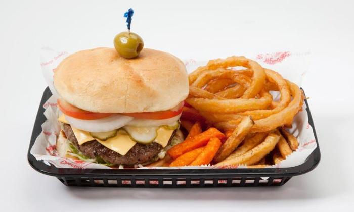 Cheeburger Cheeburger - Sanibel: Burgers and American Food at Cheeburger Cheeburger (40% Off). Two Options Available.