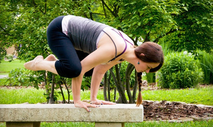 Rivers Edge Yoga - Deer Park: 10 Classes or One Month of Indoor and Outdoor Classes at Rivers Edge Yoga (Up to 64% Off)