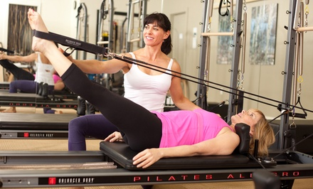 5 or 10 Reformer-Pilates Classes at  ClubSport Green Valley (Up to 68% Off)