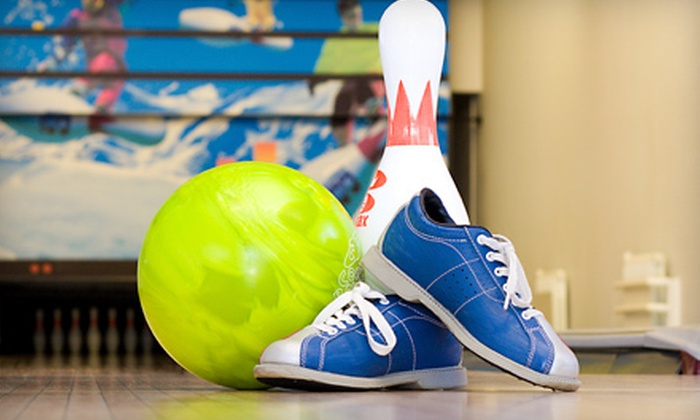 Spins Bowl Grand Prix New York - Valhalla: $40 for One Hour of Bowling Plus Arcade Games for Up to Six at Grand Prix New York (Up to $80 Value)